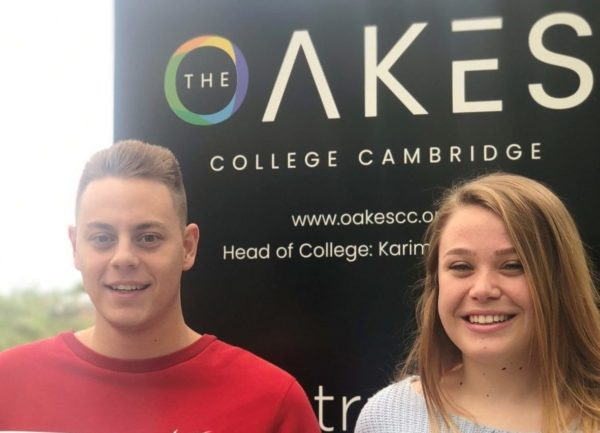 The Oakes College Cambridge A Level Results 2019 | Anglian